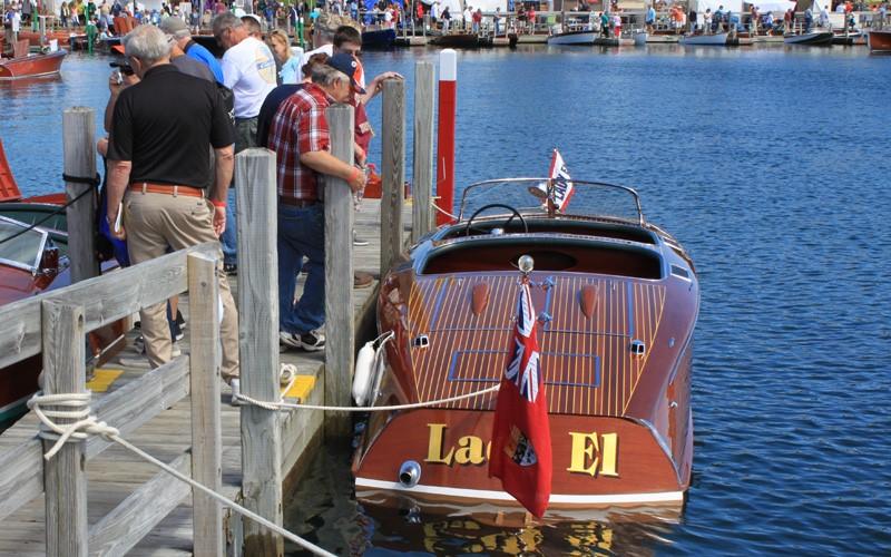 """""""Lady El"""" 1930 20' Earl Barnes, Mark & Gail Andreae from Mullett Lake, Michigan"""
