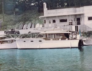 at Grand Craft Marina in 1952