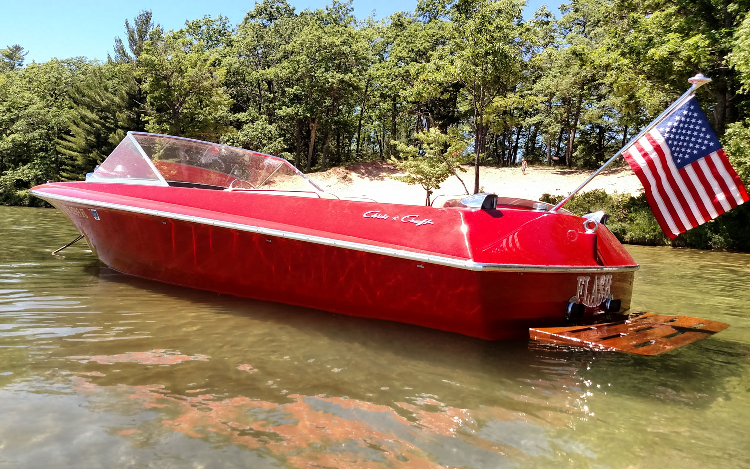 1969 chris craft ski boat acbs antique boats classic for Chris craft boat club