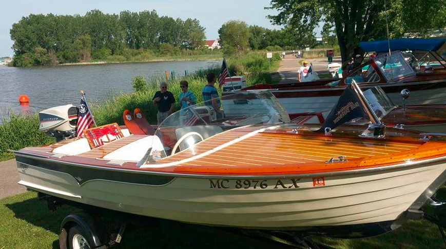 14th annual spring lake wooden and classic boat show for Small boat motor repair