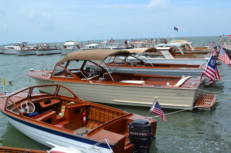 Lakeside Wooden Boat Show Acbs Antique Boats Classic Boats