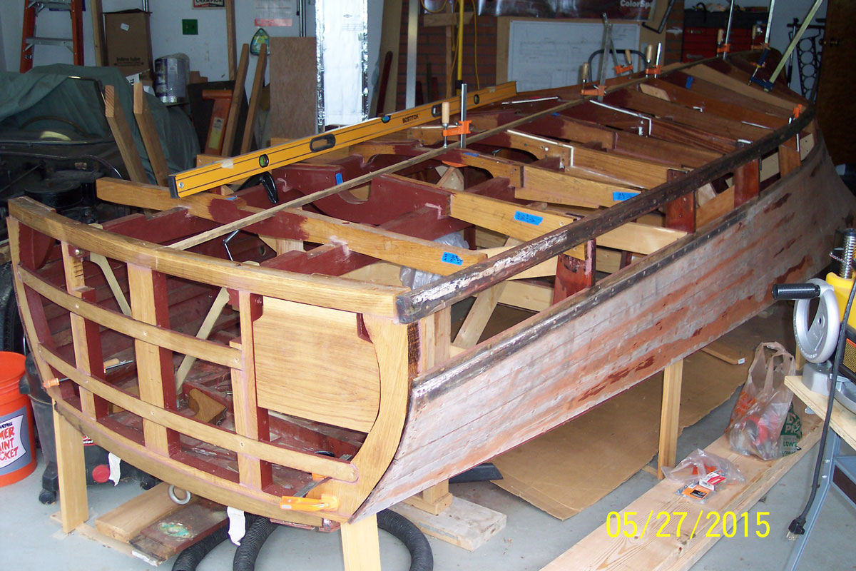 New-bottom-transom-and-frames-003 - ACBS - Antique Boats & Classic ...