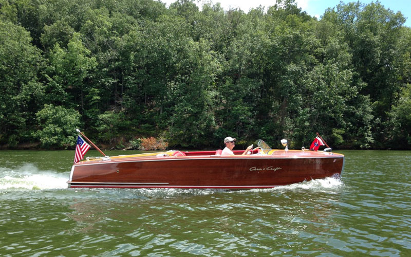 Lola 1954 Chris Craft Riviera Michael Simmons Acbs Antique Boats