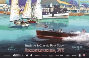 40th Annual Finger Lakes Antique & Classic Boat Show@ Skaneateles, NY @ Skaneateles | New York | United States