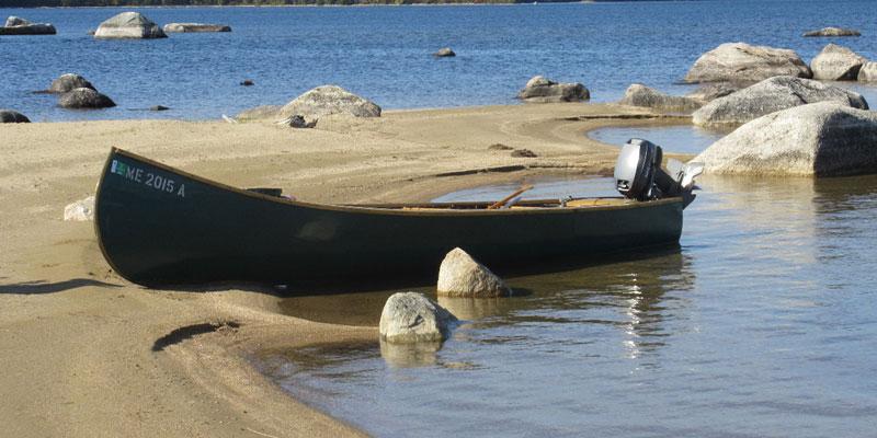 Lake Square Stern Canoe – HD Wallpapers