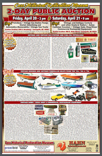 auction flyer acbs antique boats classic boats international