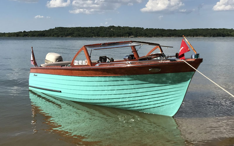 Tuesday Tour of Vintage Boats 7 31 18 - ACBS - Antique Boats