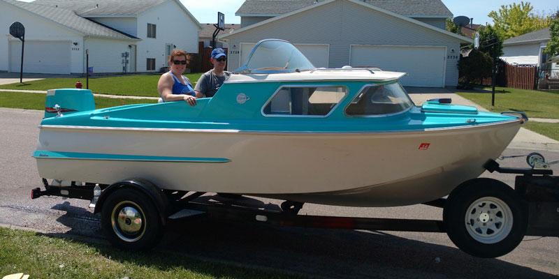 1962 Dorsett Catalina Luikens Acbs Antique Boats