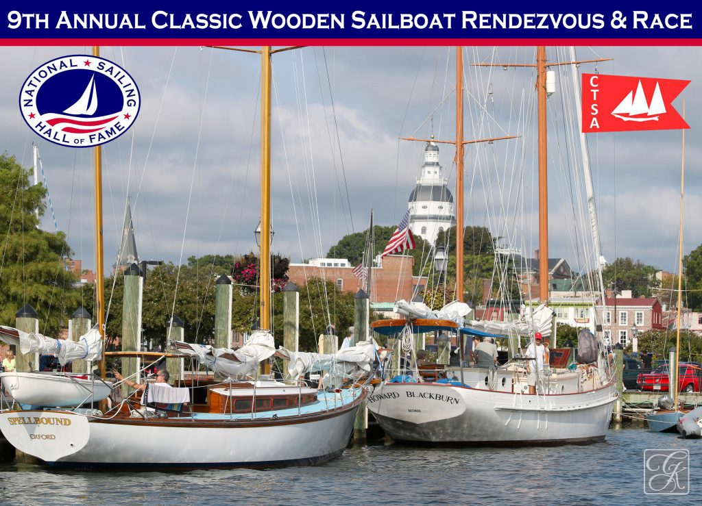 Classic Wooden Sailboat Rendezvous & Race Event @ The National Sailing Hall of Fame | Annapolis | Maryland | United States