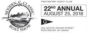 22nd Annual Wooden & Classic boat show @ Pentwater Yacht Club @ Pentwater Yacht Club  | Pentwater | Michigan | United States