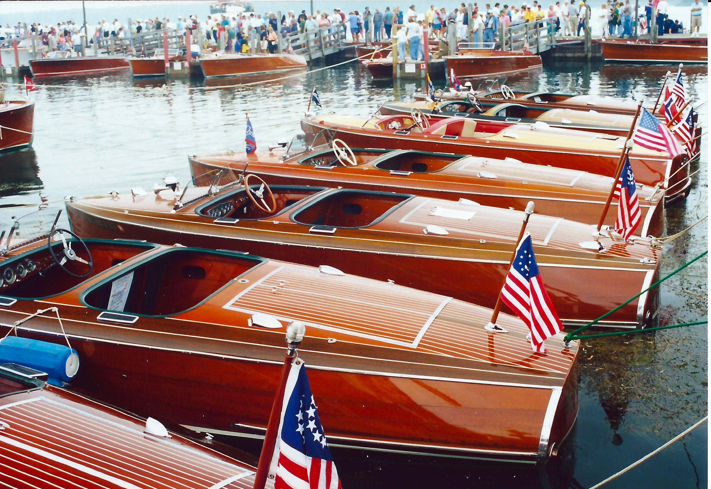 42nd Annual Les Cheneaux Islands Antique Wooden Boat Show Festival