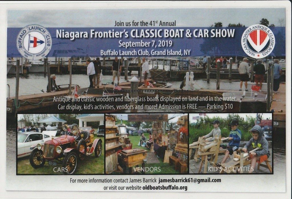 Niagara Frontier Chapter - ACBS - Antique Boats & Classic