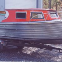 1957 One of a Kind Stainless Steel Hull 17'