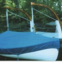 2003 Whitehall row/sail boat 15'