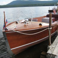 1942 Chris-Craft U-22 Deluxe Utility on Lake Pleasant NY For Sale