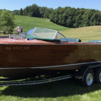 1956 Chris Craft Utility Continental 23'