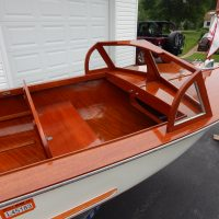 1954 Chris-Craft Style 12' Mahogany Antique Runabout