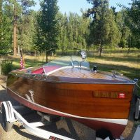 1929 antique Dee Wit Runabout 17' once owned by a King!