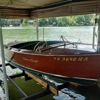 1957 Chris-Craft Deluxe Runabout 17'