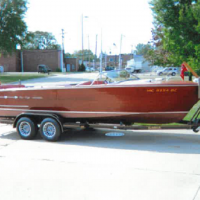 1956 Chris-Craft Continental 23'